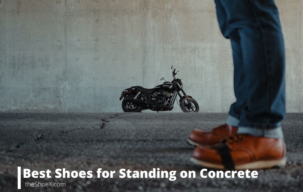best shoes standing on concrete